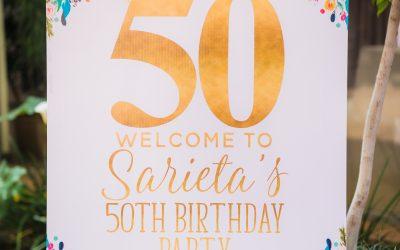 Sarieta's 50th